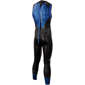 Zone3 Vision Sleeveless Wetsuit Men black/blue/yellow